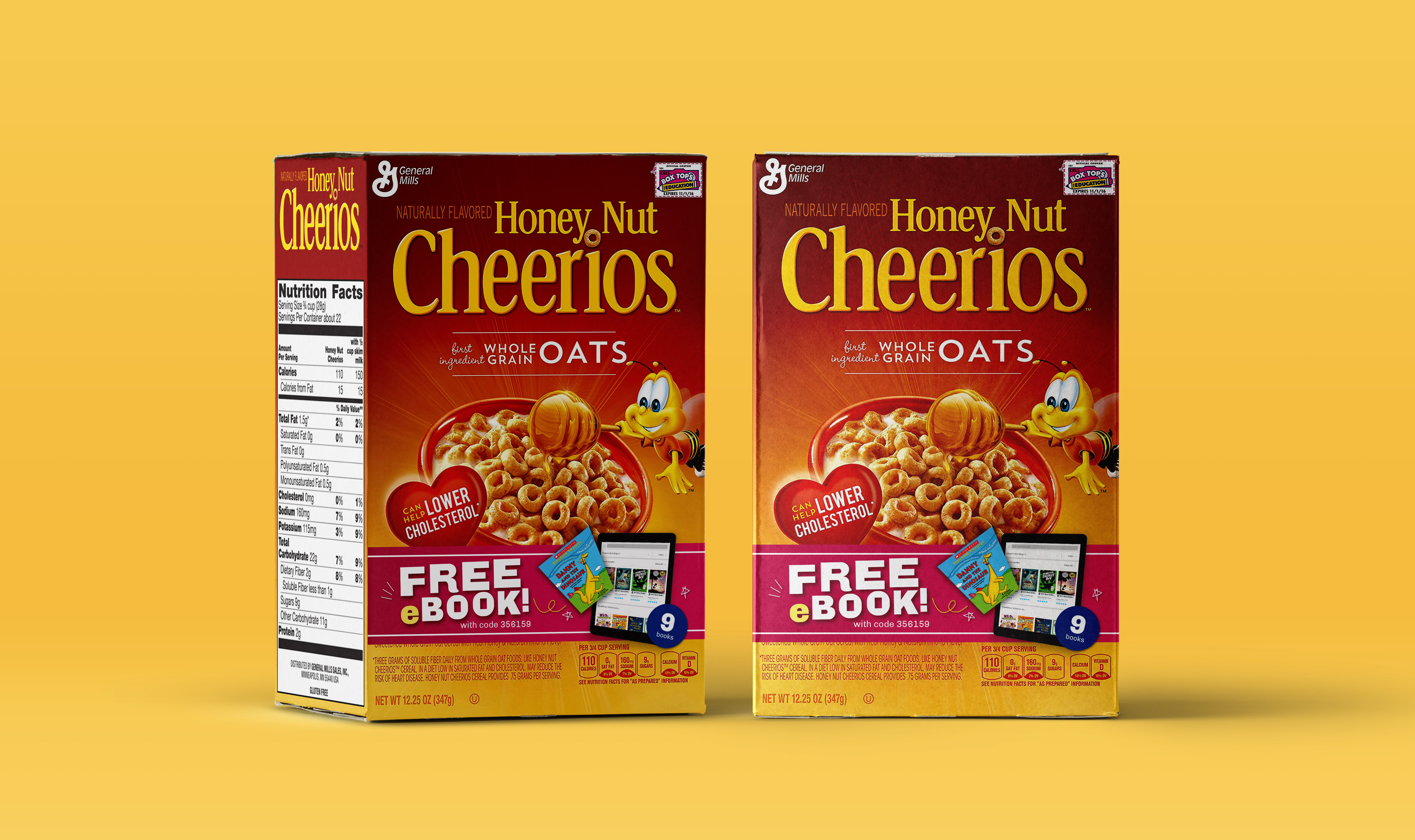 General Mills Serves Up eBooks As Part of a Balanced Breakfast