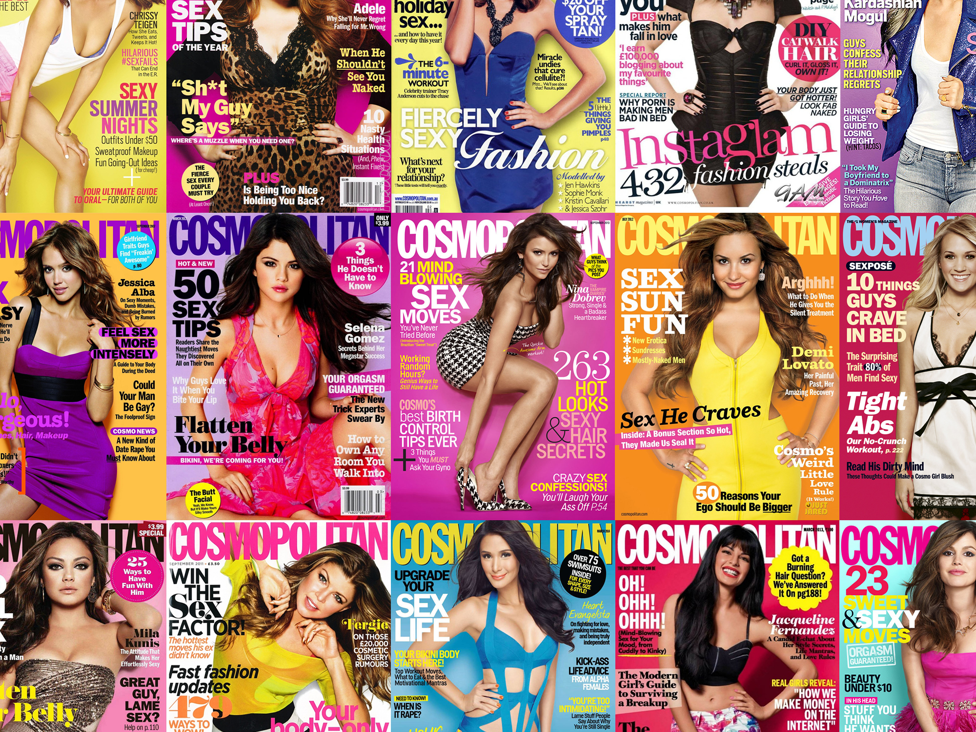 1 Million eBooks in Cosmopolitan Magazine