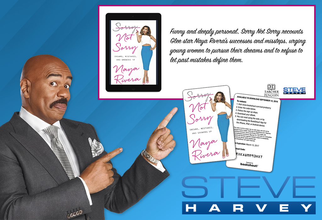 gift cards, Steve Harvey Show, eBooks
